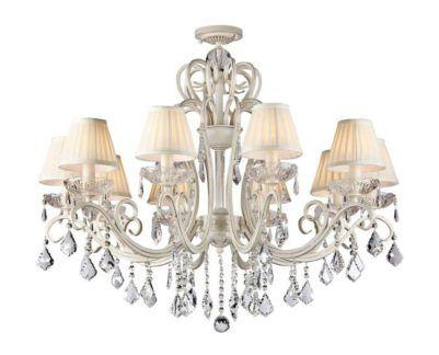 Luksusowy żyrandol Triumph - Maytoni - kremowy, kryształki
