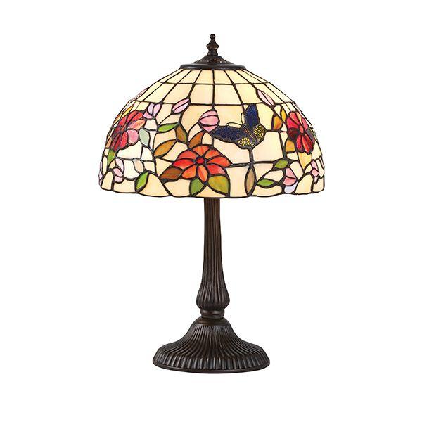 Mała lampa stołowa Butterfly - Interiors - szklany klosz