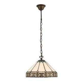 Mała lampa wisząca Boleyn - Interiors - szklana