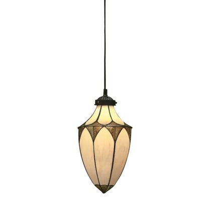 Mała lampa wisząca Brooklyn - Interiors - szklana