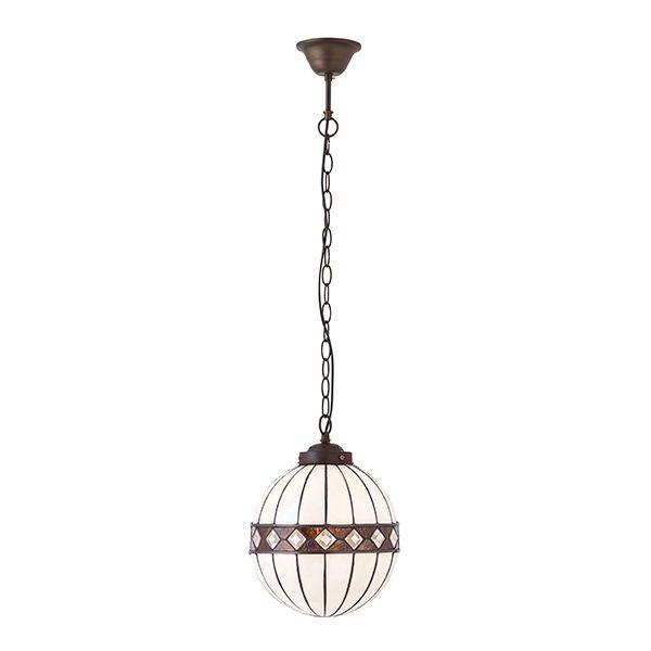 Mała lampa wisząca Fargo - Interior - szklana kula