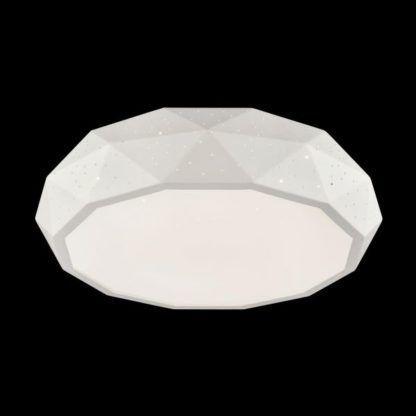 plafon biały z małymi dziurami