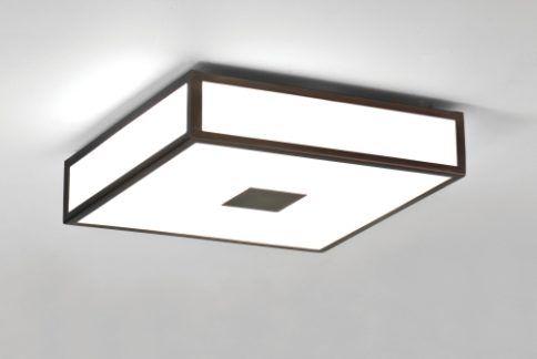Lampa sufitowa Mashiko Astro Lighting szklana brąz