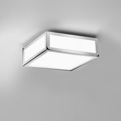 Lampa sufitowa Mashiko mała Astro Lighting - szklana chrom  IP44