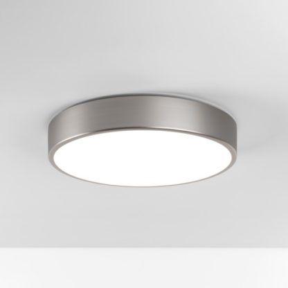 Matowy plafon Mallon LED - Astro Lighting - srebrny