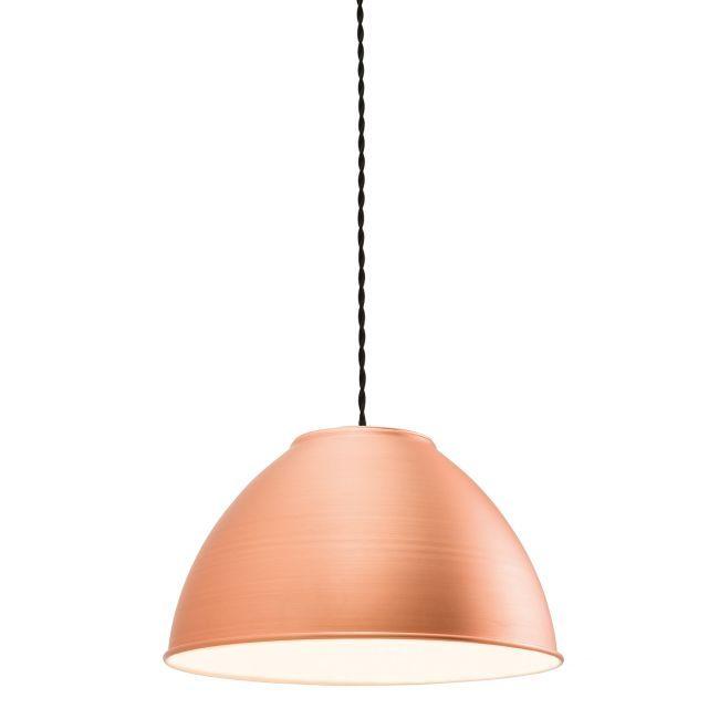 Metalowa lampa wisząca Dench - Endon Lighting - matowa