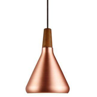 Miedziana lampa wisząca Float  - DFTP - Nordlux - styl scandi