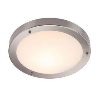 Minimalistyczna lampa sufitowa Portico - Endon Lighting - nikiel