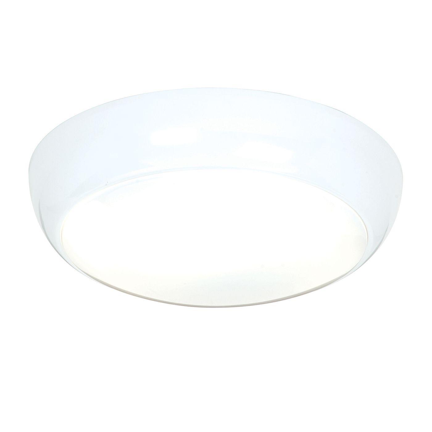 Minimalistyczny plafon Vigor 325 - Saxby Lighting - biały