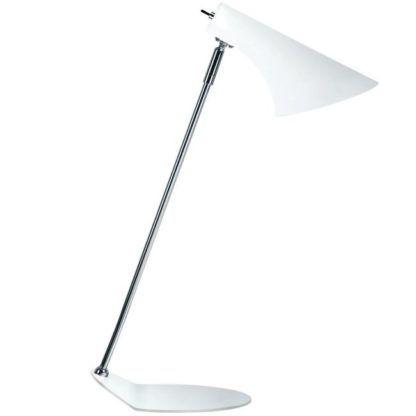 Nowoczesna lampa biurkowa - Vanila - Nordlux - biała