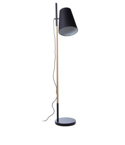 Nowoczesna lampa podłogowa z czarnym abażurem - Hideout - Frandsen