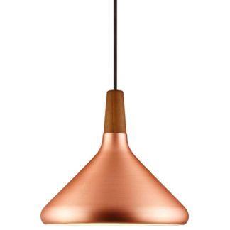 Nowoczesna lampa wisząca Float - DFTP - Nordlux - miedziana