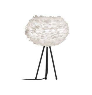 Nowoczesna lampa stołowa - tripod table - Eos Light - biała