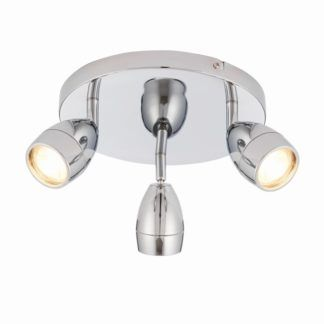 Nowoczesna lampa sufitowa Porto LED - Endon Lighting - chrom