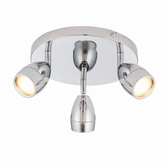 Nowoczesna lampa sufitowa Porto LED - Endon Lighting - chrom