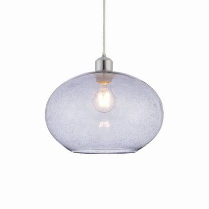 Nowoczesna lampa wisząca Dimitri - Endon Lighting - szklana