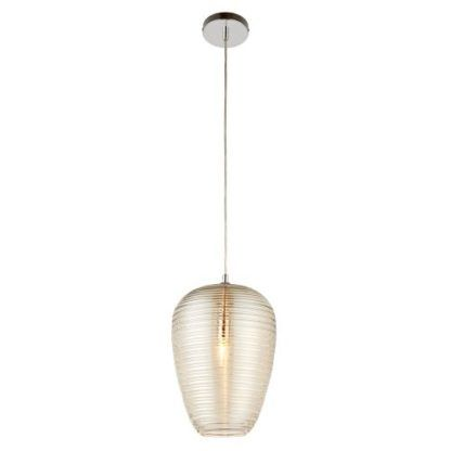 Nowoczesna lampa wisząca Phillipa - Endon Lighting - szklana