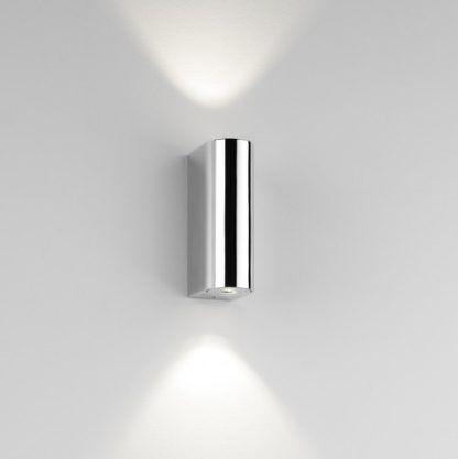 Nowoczesny kinkiet Alba LED - Astro Lighting - chrom, srebrny