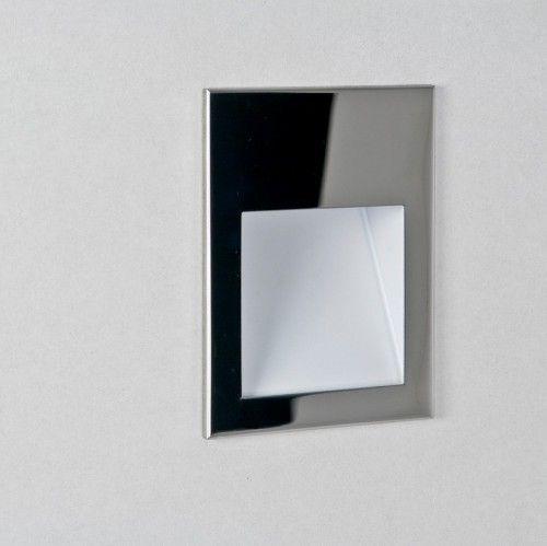 Nowoczesny kinkiet Borgo 90 LED - Astro Lighting - srebrny, stal