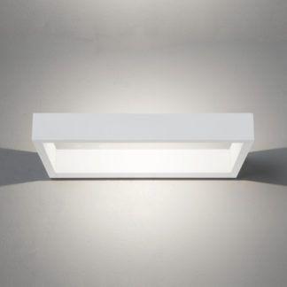 Nowoczesny kinkiet D-Light LED - Astro Lighting - biały mat
