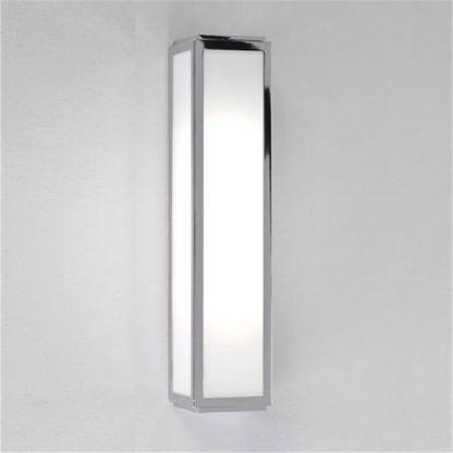 Nowoczesny kinkiet Mashiko Classic - Astro Lighting - szklany chrom IP44