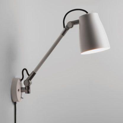 Nowoczesny kinkiet z wysięgnikiem - Astro Lighting - biały