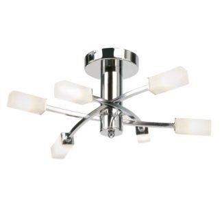 Nowoczesny żyrandol Havana - Endon Lighting - 6 żarówek - chrom
