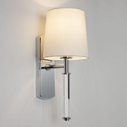 Nowojorski kinkiet Delphi - Astro Lighting - srebrny