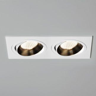 Oczko sufitowe Aprilia Twin LED - Astro Lighting - matowe, białe
