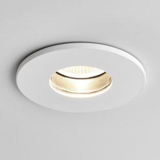 Oczko sufitowe Obscura Round - Astro Lighting - białe, matowe