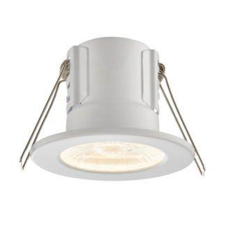 Oczko sufitowe ShieldECO - Saxby Lighting - matowe białe