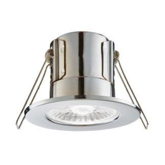 Oczko sufitowe ShieldECO - Saxby Lighting - srebrne