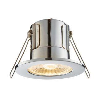 Lampa wpuszczana ShieldECO - Saxby Lighting - srebrna