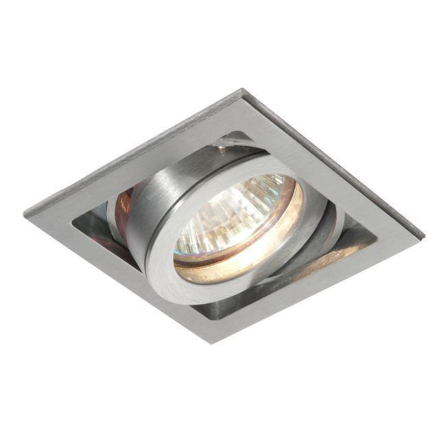 Oczko sufitowe Xeno Single - Saxby Lighting - srebrne
