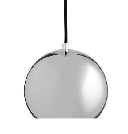 Okrągła lampa wisząca Ball - Frandsen Lighting - chrom - połysk
