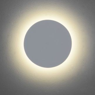 Okrągły gipsowy kinkiet Eclipse Round 250 LED - Astro Lighting - biały