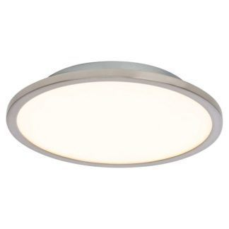 Okrągły plafon Ceres 25 - Endon Lighting - biały, metal