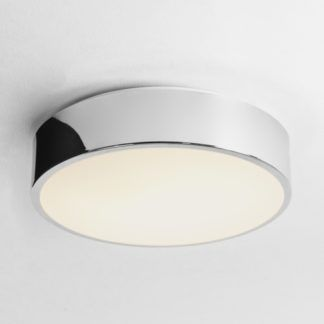 Okrągły plafon Mallon LED - Astro Lighting - chrom