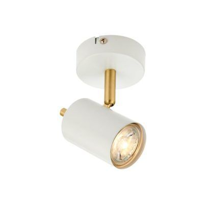 Oryginalna lampa sufitowa Gull - Endon Lighting - biała, złota