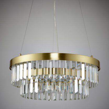 Oryginalna lampa wisząca Elise - Endon Lighting - złota