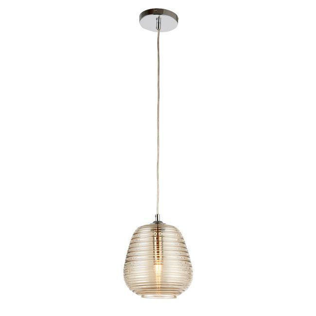 Oryginalna lampa wisząca Phillipa - Endon Lighting - szklana