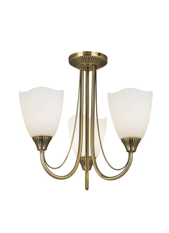 Oryginalny żyrandol Haughton - Endon Lighting - złoty