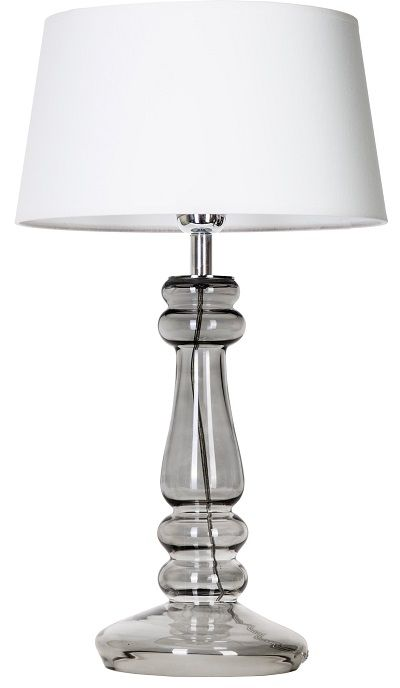Lampa stołowa - Petit Trianon Black Transparent 4concepts - biała