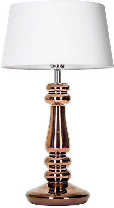 Lampa stołowa - Petit Trianon Copper 4concepts - miedziana podstawa