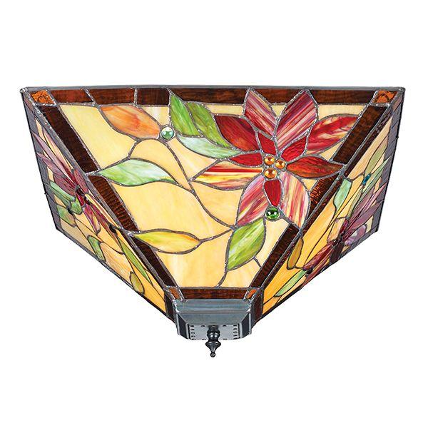Plafon Lelani - Interiors - szklany klosz