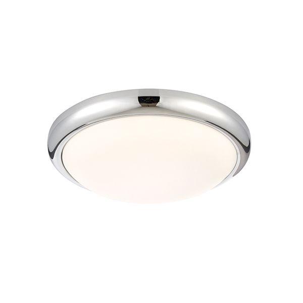 Plafon Montana - Saxby Lighting - biały, chrom