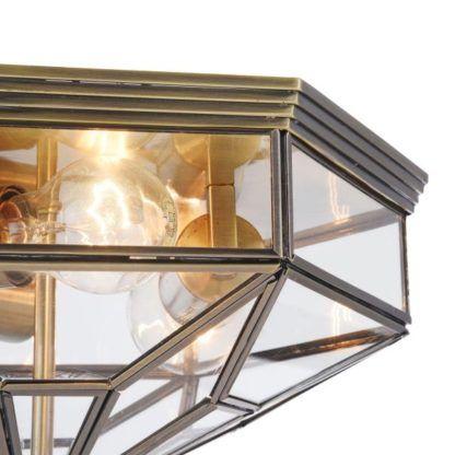 plafon szklany sufitowy ciemny
