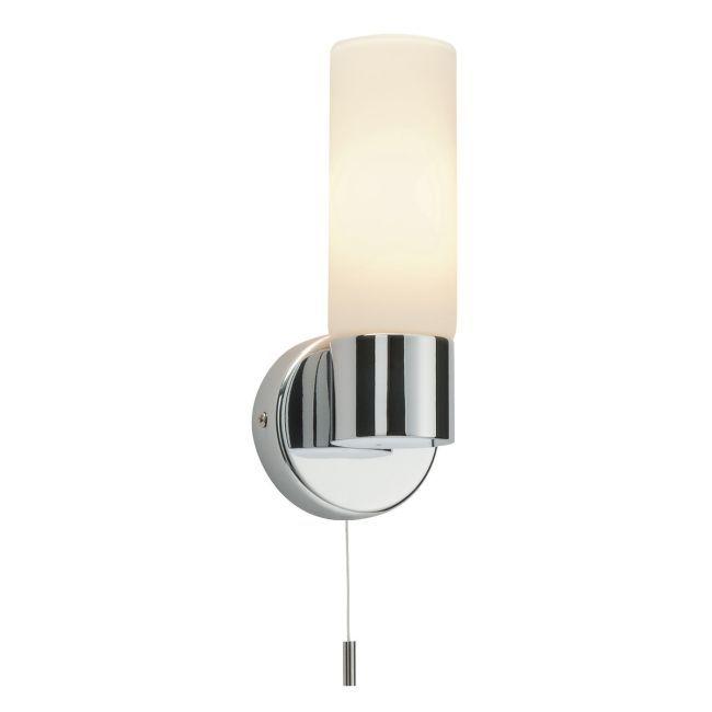 Podłużny kinkiet łazienkowy Pure - Endon Lighting - chrom, szkło