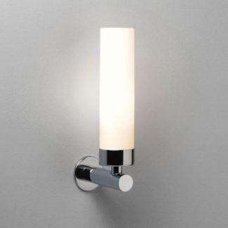 Podłużny kinkiet Tube LED - Astro Lighting - szklany chrom