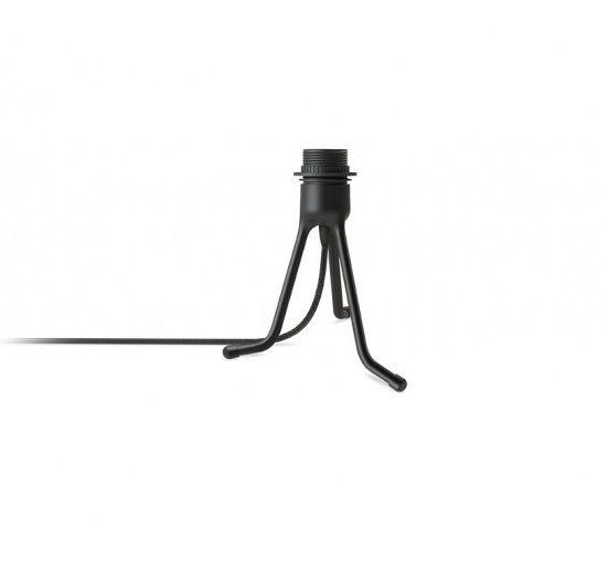 podstawa trójnóg do lampy stołowej w kolorze czarnym